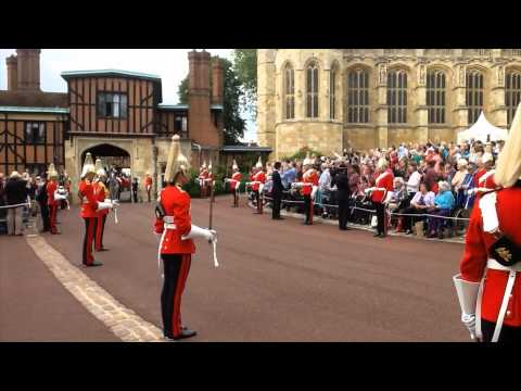 The Garter procession at Windsor