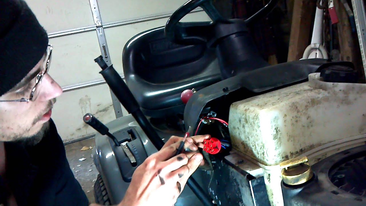 maxresdefault lawn tractor switch power test craftsman lt2000 lt3000 youtube  at bakdesigns.co