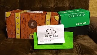 Sep 2015 Loot Crate / 1UP Box / Lootaku | Ashens