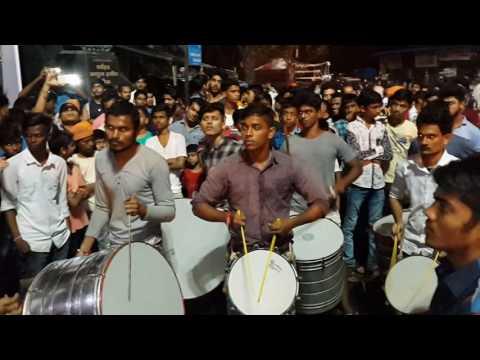 ganpati agman rock on group 2016 shivaji nagar