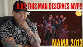 REACTING TO 엑소(EXO) - 으르렁(Growl) + 늑대와 미녀(Beauty and the Beast) at MAMA 2013 | HONEST REACTION!!