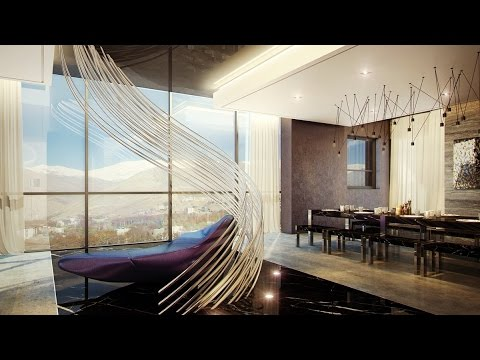 3 Ultra-Luxurious Sophisticated Interior Designed Apartments from New York, Iran &  Beirut