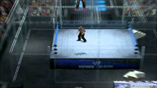 WWE Smackdown Vs Raw 2011 Ps2 gameplay # 2