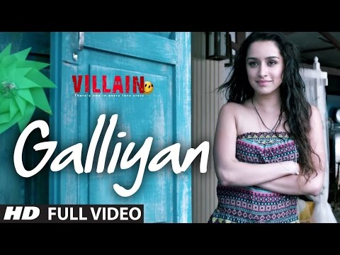 Galliyan Song | Ek Villain|Ultra HD 4K | Ankit Tiwari | Sidharth Malhotra | Shraddha Kapoor