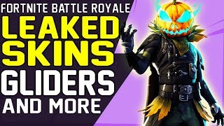 NEUE Fortnite LEAKED SKINS Patch 6 02, GLIDERS, EMOTES, PICKAXES, Saison 6 Halloween Battle Royale