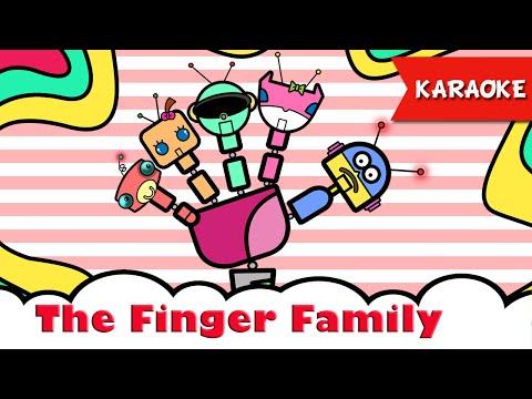 The Finger Family Karaoke Daddy Finger Instrumental song for kids