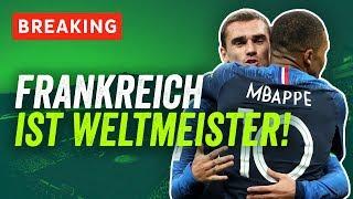 WM 2018 Finale: Frankreich ist Weltmeister! Griezmann und Pogba schießen Les Bleus zum WM-Traum!