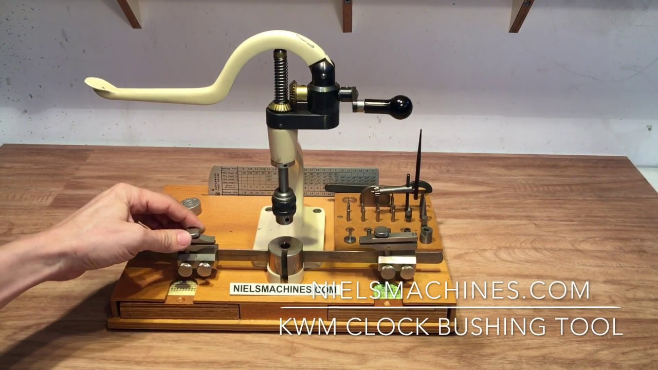 Kwm Bushing Tool And Accessories Youtube