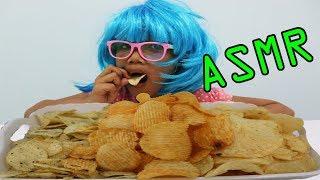 กินขนมเลย์ สาหร่ายเถ้าแก่น้อย | ASMR Eating | เสียงกิน l น้องใยไหม kids snook