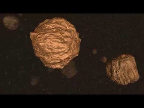 Asteroids 3D Cosmic explosion
