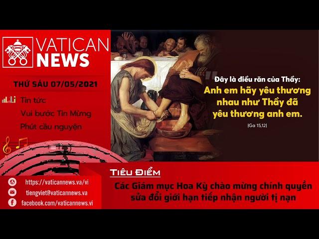 Radio thứ Sáu 07/05/2021 - Vatican News Tiếng Việt