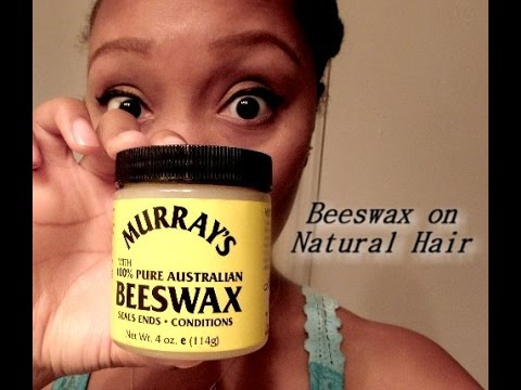 (132) MURRAY'S BEESWAX ON NATURAL HAIR REVIEW