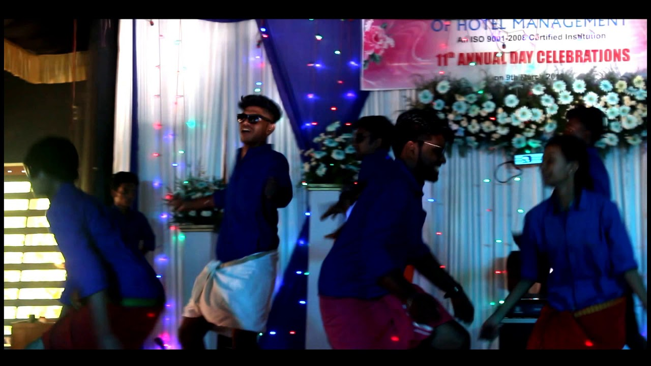Rajadhani Institute Of Hotel Management Dho Students Funny Dance