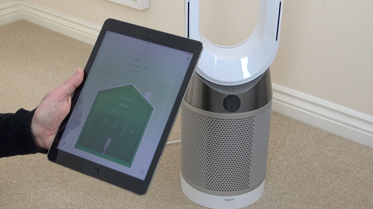 Dyson Tp04 Pure Cool Air Purifier Review Youtube