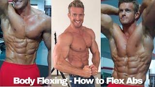 Body Flexing   How to Flex Abs