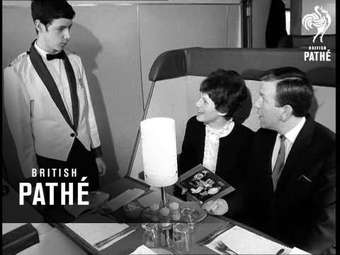 London - New Catering Coaches Aka New British Rail Restaurant Cars (1968)