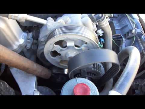 Установка ремня и расположение меток на Honda Accord 7.