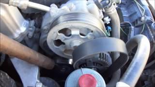 видео Замена ремня ГРМ на Honda Accord