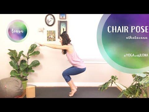 Chair Pose || UTKATASANA || Yoga With Ilona