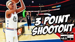 NBA 2K19 MyCareer - Calling Out Stephen Curry at The 3 Point Contest! Adrian Cooper All Star Weekend