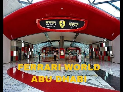 FERRARI WORLD ABU DHABI UAE | FASTEST ROLLER COASTER IN THE WORLD | TOUR OF FERRARI WORLD | DUBAI
