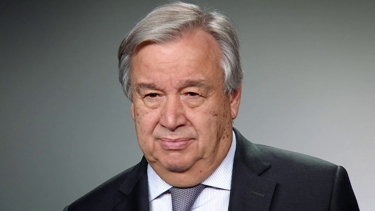 2019 New Year's Video Message – UN Secretary-General António Guterres