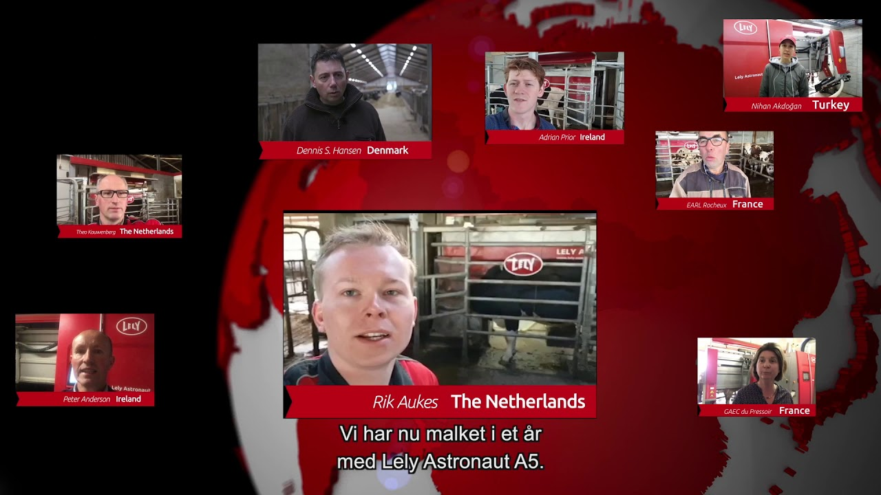 Lely Astronaut A5 - Første års erfaringer - Video 6 (DK)
