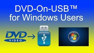 How to play DVD on USB flash drive - Windows