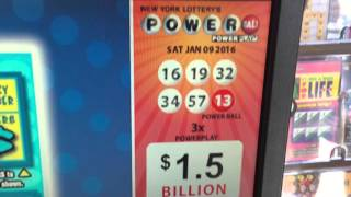 $2,000 Powerball Tickets