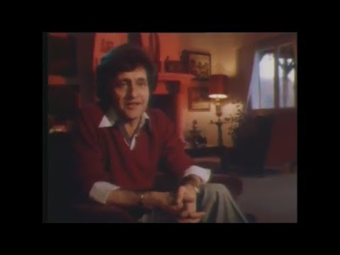Joe Dassin - Interview at home with Christine (1978)