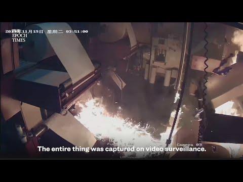 Hong Kong Printing Press - Our Press Was Just Torched