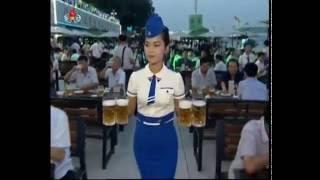 北朝鮮 「20時報道 (20시 보도)」より「平壌大同江ビール祝典開幕」報道 KCTV 2016/08/13 日本語字幕付き