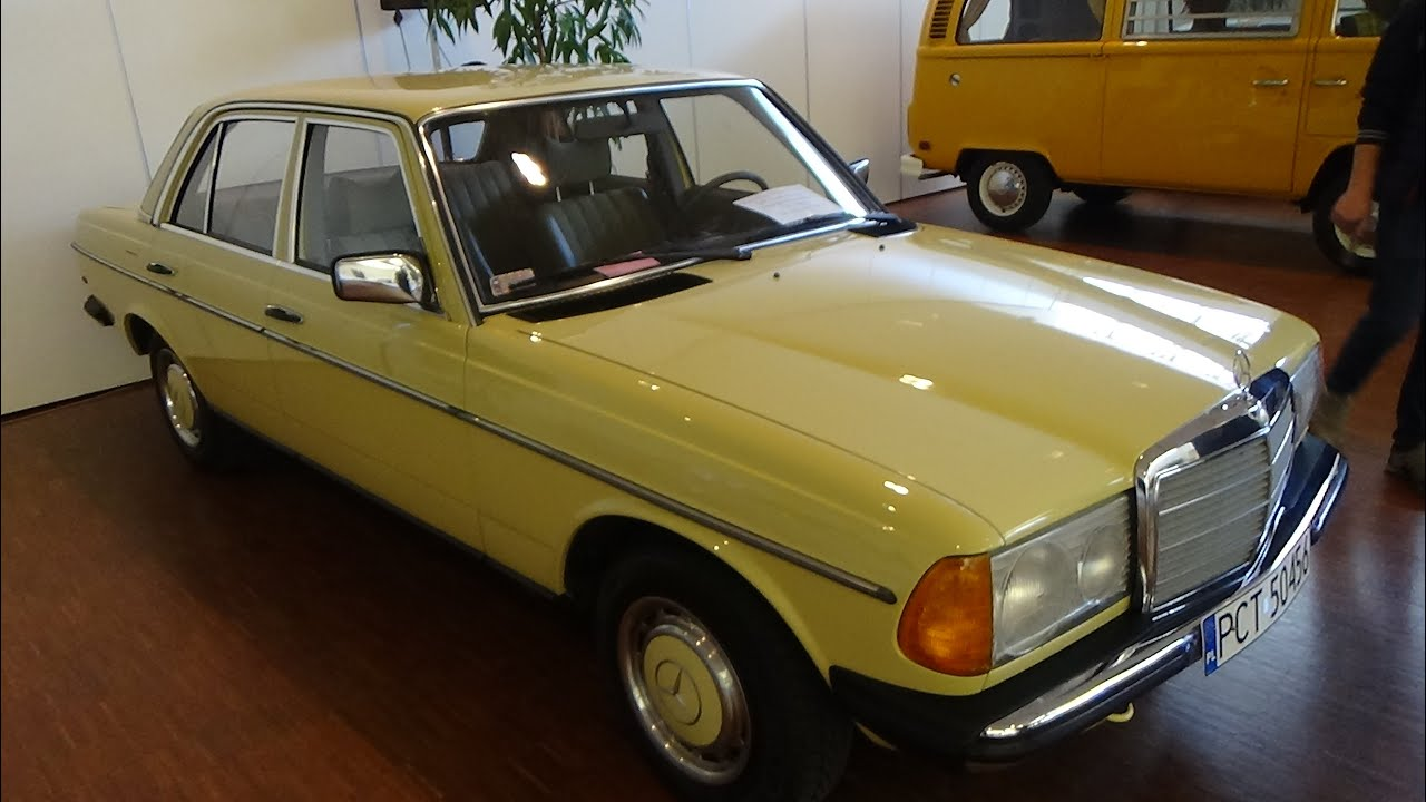 1978 mercedes benz 240 w123 technorama ulm 2016 youtube. Black Bedroom Furniture Sets. Home Design Ideas