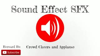 Crowd Cheers and Applause - Sound Effect SFX Full HD