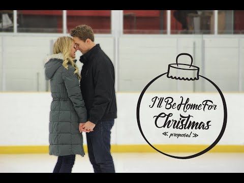 THE BEST CHRISTMAS PROPOSAL EVER!! (I'LL BE HOME FOR CHRISTMAS)
