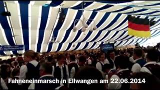Fahneneinmarsch MV-Bergatreute