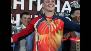 Валентина Шевченко станцевала кара-жорго и лезгинку в Оше