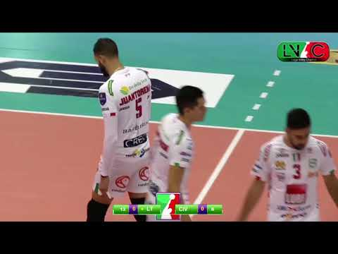 2017 Italy Superleague Volleyball Lube v Latina