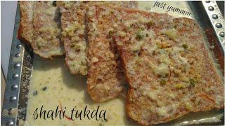 #shahi_tukda recipe| kesar pista flavour|delicious recipe|awesome flavour deserts recipe|#just_yummm