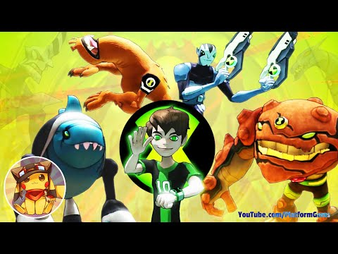 Ben 10 Omniverse - Full Movie Game Walkthrough [1080p] No Commentary