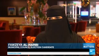 Saudi Arabia: women vote for women for the first time