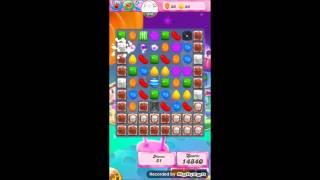 Candy crush saga level 1206 No booster 3 stars