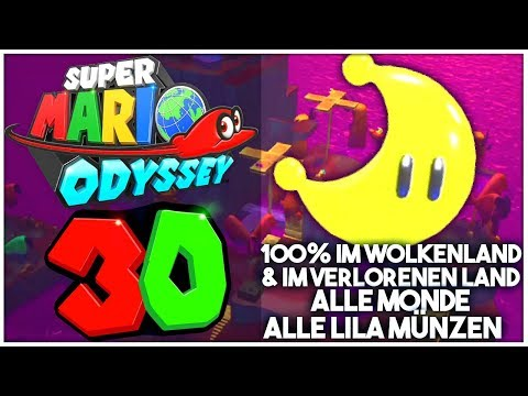 Super Mario Odyssey Part 30 Alle Power Monde Lila Münzen Im