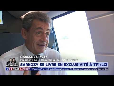 Sarkozy se livre en exclusivité à TF1/LCI
