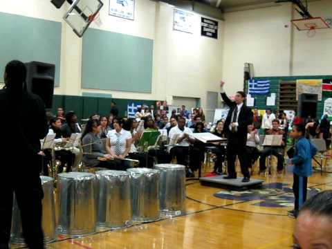 Springfield High School of Science and Technology Percussion Band