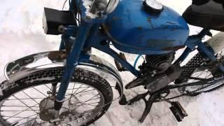 Мопед рига, прогрев зимой, настройка карбюратора К34 Б