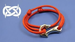 How to make a Fire/Fish Hook Adjustable Paracord Bracelet