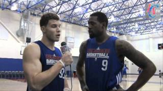 Blake Griffin's Funny Reporting