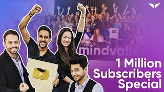 🌟 Mindvalley Hit 1 MILLION on YouTube 🌟 Thank You Our Subscribers!!! ❤️
