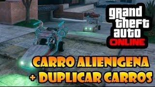 GTA V ONLINE: SPACE DOCKER CARRO ALIENIGENA, COMO CONSEGUIR E COMO CLONAR CARROS - GLITCH.